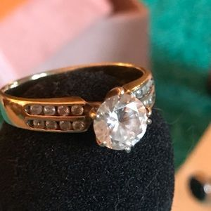 size 6 1/2 1.0 CZ ring